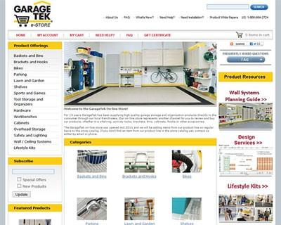GarageTek eStore