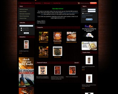 Joe Davidson's BBQ Shop