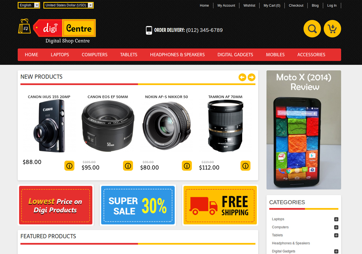 Avactis Ecommerce Themes The Best Php Shopping Cart Solution For