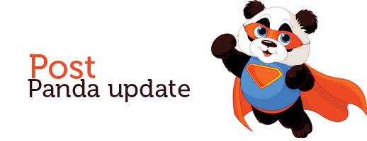 post panda update