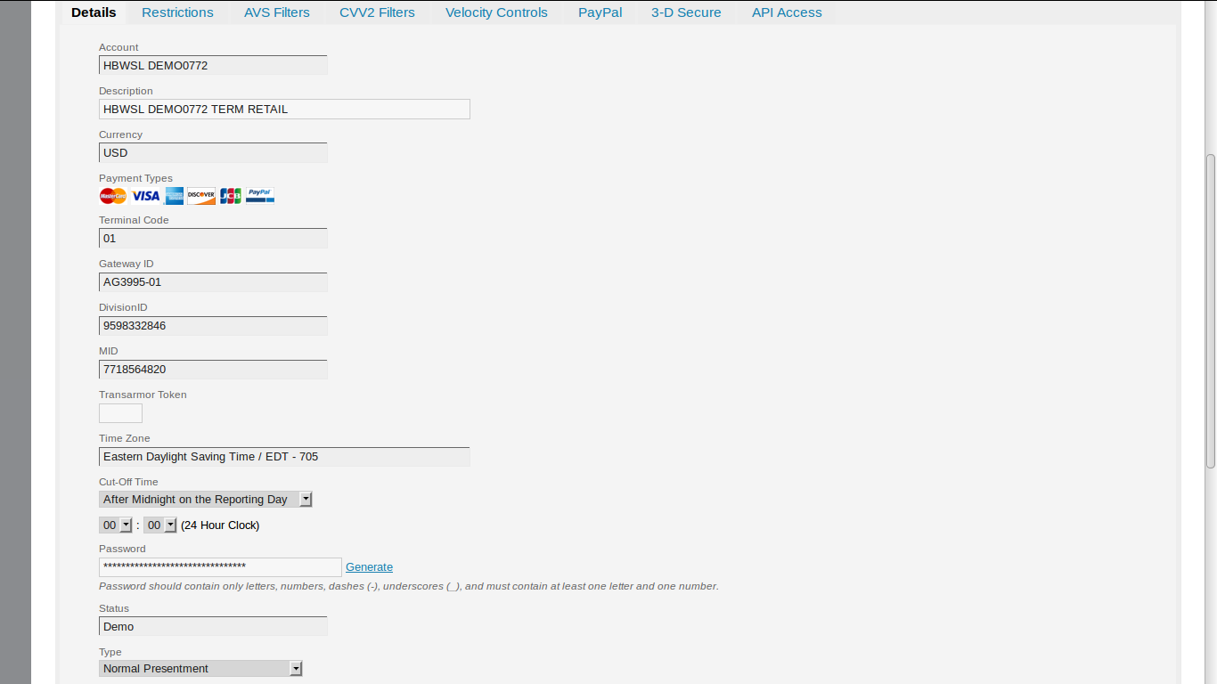 How to create dummy payment gateway