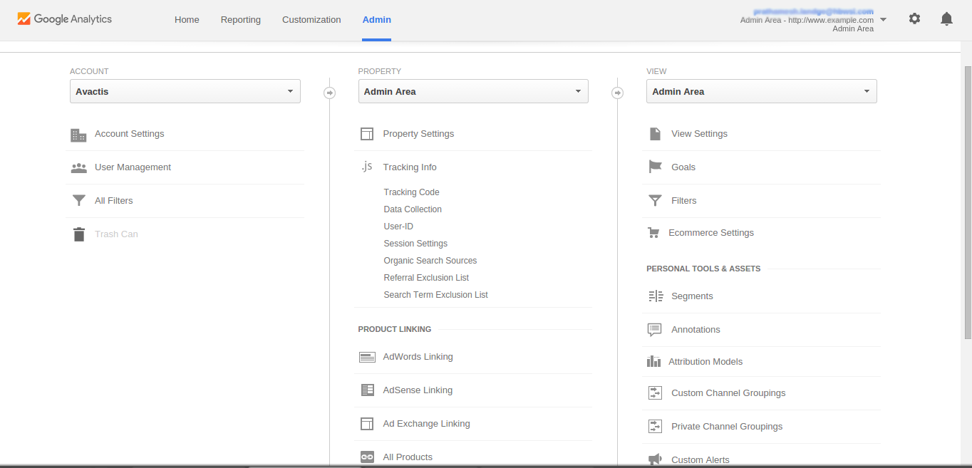 How to Install Google Analytics to your Avactis Store